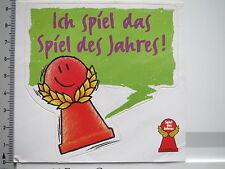 Aufkleber Sticker Spiel des Jahres - Gesellschaftsspiele - Spielemesse (S1371)