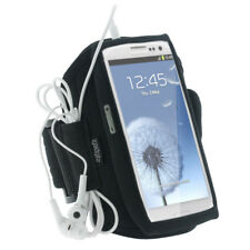 Black Sports Armband for Samsung Galaxy S3 III i9300 Android Gym Running Jogging