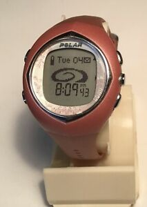 Polar F11 Ladies Dusty Rose Watch Only NO HR Band Sml/Med Band