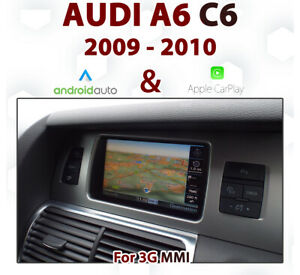 [TOUCH] Audi A6 2009-10 Touch overlay Apple CarPlay & Android auto Integration
