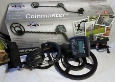 """White's COINMASTER Metal Detector w/ Waterproof 9"""" Search Coil *Barely Used*  i8"""