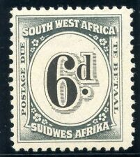 South West Africa Postage Due Stamps