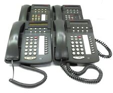 AVAYA LUCENT OFFICE TELEPHONE SET 108163924, 6408D01A-323, GRAY, LOT OF 4