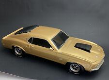 "Danbury Mint Bradford Exchange 1969 Mustang Boss 429 RARE /gold  16"""
