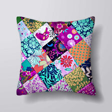 Patchwork Cushion Covers Pillow Cases Home Decor or Inner
