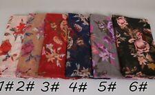 Floral Scarf/Hijab Shawl/Wrap