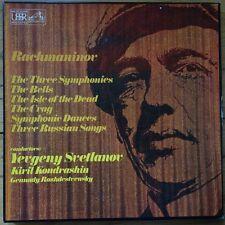 SLS 847 Rachmaninov Symphonies, The Bells , Isle of The Dead etc. / Svetlanov...