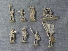 Grenadier Tomb of Spells. 8 Skeletons. TSR AD&D Miniatures 5004. 1980