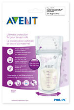 AVENT BREAST MILK STORAGE BAGS 180ML 25 PACK