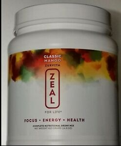 Zeal for Life- Classic Mango Canister - 420g EXP: 12/2021