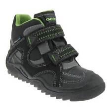Scarpe stivali neri marca Geox per bambini dai 2 ai 16 anni