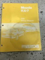 1986 mazda rx 7 electrical wiring diagram service manual. Black Bedroom Furniture Sets. Home Design Ideas