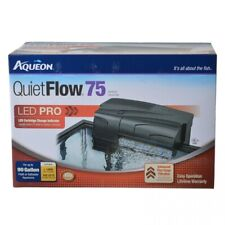 LM Aqueon LED Pro Power Filter QuietFlow 55 & 75 (Aquariums up to 90 Gallons)