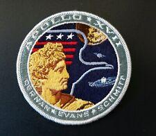 Vintage NASA APOLLO XV11 Patch Cernan Evans Schmitt