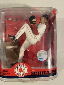 McFarlane Curt Schilling Boston Red Sox MLB Series 22 NIP