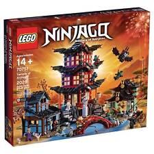 70751 TEMPLE OF AIRJITZU lego legos set NEW ninjago ninja Lloyd Kai Jay Zane Nya