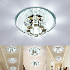 Ceiling Light LED Chandelier Crystal Fixture Lamp Pendant Living Room Porch Deco