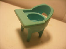 Vintage fisher price little people vehicule 1972 Nursery Chaise Haute