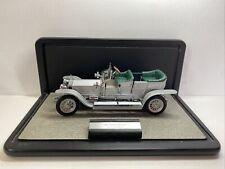Franklin Mint 1/24 Scale Diecast RRSGC 1907 Rolls Royce The Silver Ghost + Case