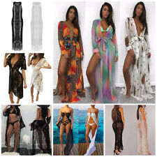 Summer Women Beachwear Swimwear Bikini Beach Wear Cover Up Kaftan Long Dress