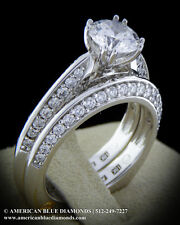 A.JAFFE .48CT TW VS1 F, Semi-mount Engagement Ring (Item 1762)