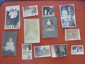 Job Lot of Vintage Black & White Photographs (cf3)