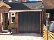 40MM Insulated Steel side hinged Garage door high security Hinge Opening 1/2 1/2