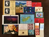 COLLECTION 17 BOOKLETS GREAT BRITAIN FRANCE NORWAY ICELAND GUERNSEY ITALY ETC