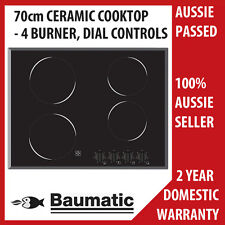 Brand New  BAUMATIC 70cm Ceramic Glass Electric Control Cook top Model BCE7001.1