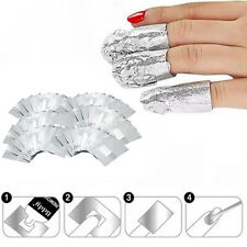 100Stk Entferner für Maniküre Nail Polish UV Gel Nagellack Remover Wraps Fo E8H4