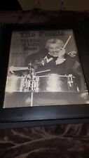 Tito Puente King Of Latin Music Rare Original Promo Poster Ad Framed!