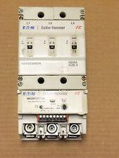 Cutler Hammer Motor Starter N101ES4P3A Size 4 135 Amp 600V 24VDC Coil CHIPPED