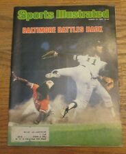 Sports Illustrated August 25, 1980 Baltimore Battles Back