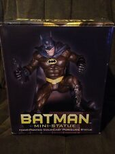 Batman Mini Statue Hand Painted Cold Cast Porcelain DC Direct #3021/4000 New