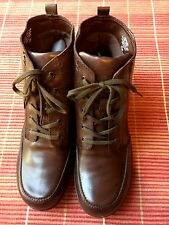 "Easy Spirit Gingersnaps Womens Brown Leather Ankle Winter  Boots 7.5 M ""NEW"""
