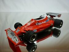 EIDAI GRIP FERRARI 312 T2 - AGIP FIAT No 11 - NIKI LAUDA - F1 RED 1:43 - GOOD