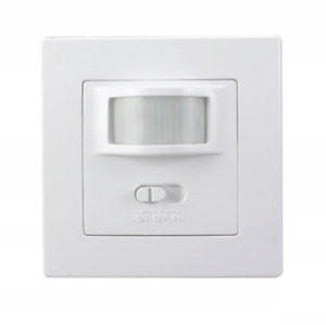 Indoor motion detector Infrared detector LIGHT SENSOR IP20 flush-mounted wall