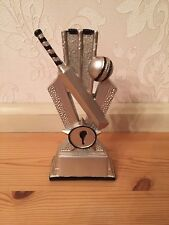Cricket Trophy Brand New 16.5cm  *free Engraving-P&P*