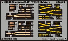 SEATBELTS RAF WWII EDUARD P.E 1/48