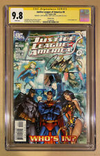 JUSTICE LEAGUE OF AMERICA 0 1:10 CGC SS 9.8 SIGNED CAMPBELL CAVILL GADOT MOVIE