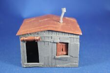 Plasticville - O-O27 - #1627-100 Hobo Shack 1 Large Gray - EXCELLENT Condition