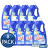 8 x DYNAMO LAUNDRY LIQUID FRONT & TOP LOADER WITH A BOOST OF SARD WONDER 950mL