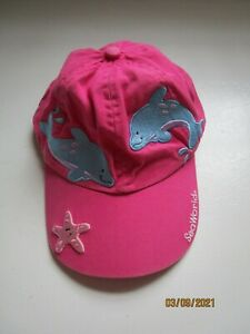 Sea World Dolphin Cap Hat Kid Tees By Stephen Joseph Adjustable Star Fish