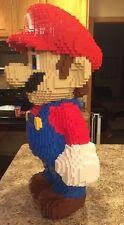 """30"""" Lego Sculpture Mario UCS Collectors Rare Nes Art HUGE Statue Custom Moc"""