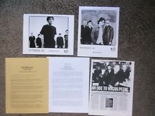 "Witness U.K. ""Before The Calm""+""Under The Sun"" Mca Press Kits 2 Pix+ 65 Pages!"