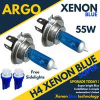 H4 55w Xenon Hid Super Blue 501 7 Led Side Lights Headlight Lamps 472 Bulbs 12v