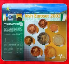 Ierland -  Eire - Ireland and  or  Irish  EUROSET 2002 - 5.000 Minted by KNM -