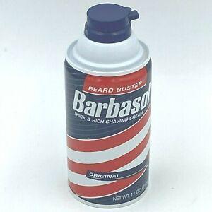 Vintage Barbasol Shaving Cream 11oz Jurassic Park Style Full UNUSED Original HB1