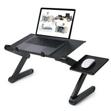 Adjustable Laptop Desk Ergonomic Portable TV Bed Lapdesk With Mouse Pad