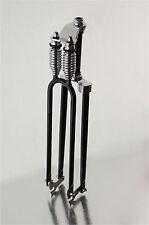 Black Monark T2  Bicycle Bike Springer Fork w//Reducer for 1 1//8 inch frames